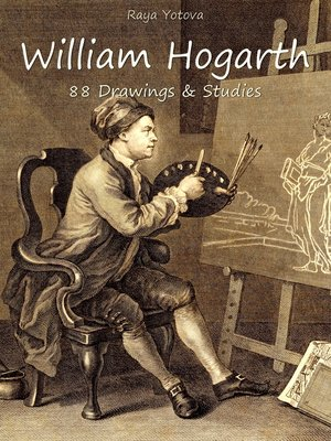 cover image of William Hogarth: 88 Drawings & Studies