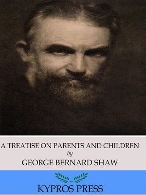 cover image of A Treatise on Parents and Children