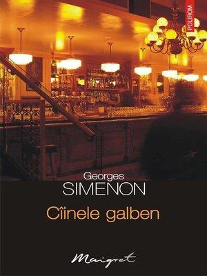 cover image of Cîinele galben