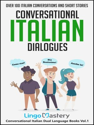 cover image of Conversational Italian Dialogues