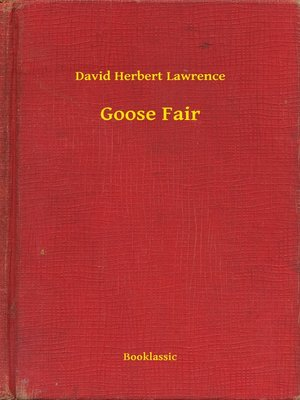 cover image of Goose Fair
