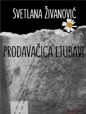 cover image of PRODAVACICA LJUBAVI