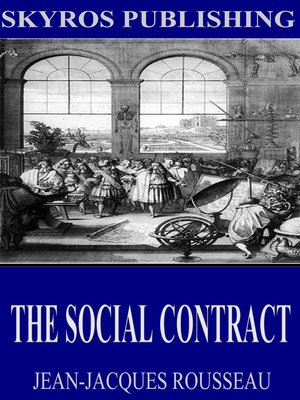 cover image of The Social Contract