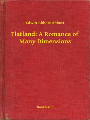cover image of Flatland: A Romance of Many Dimensions
