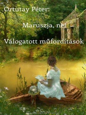 cover image of Maruszja, ne!