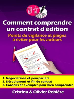 cover image of Comment comprendre un contrat d'édition