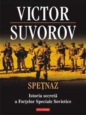 cover image of Spețnaz