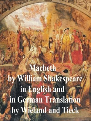 cover image of Macbeth, Bilingual Edition (English with line numbers and two German translations)
