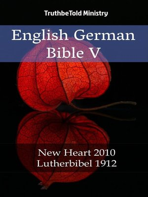 cover image of English German Bible V