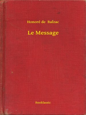 cover image of Le Message