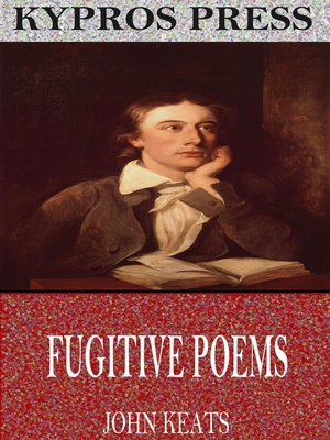 cover image of Fugitive Poems