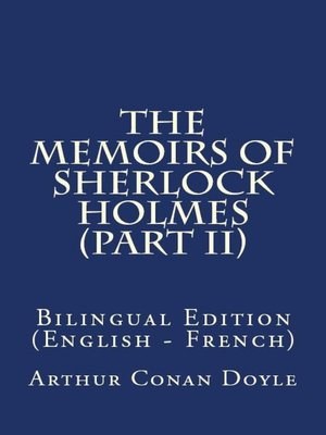 cover image of The Memoirs Of Sherlock Holmes II