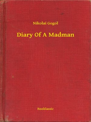 cover image of Diary Of A Madman