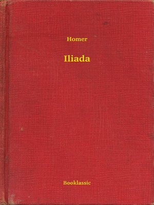cover image of Iliada