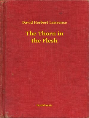 cover image of The Thorn in the Flesh