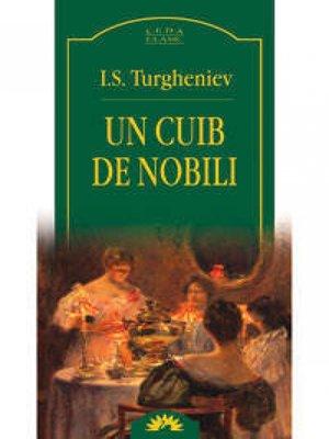 cover image of Un cuib de nobili