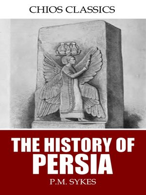 cover image of The History of Persia