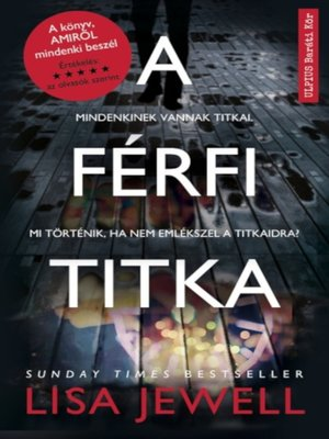 cover image of A férfi titka
