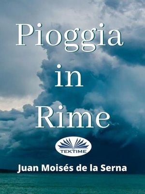 cover image of Pioggia In Rime