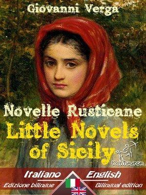 cover image of Novelle Rusticane - Little Novels of Sicily