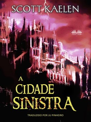 cover image of A Cidade Sinistra