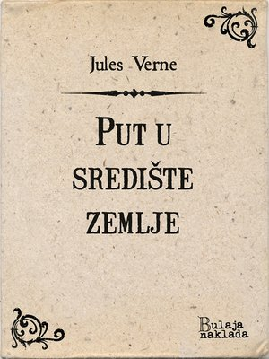 cover image of Put u središte zemlje