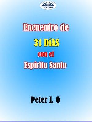 cover image of Encuentro De 31 Días Con El Espíritu Santo