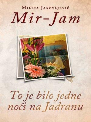 cover image of To je bilo jedne noći na Jadranu