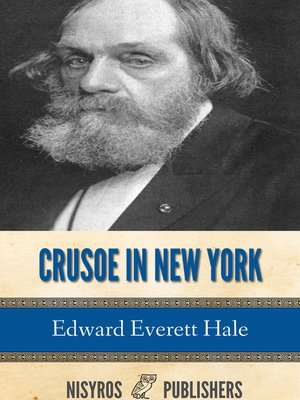 cover image of Crusoe in New York, and Other Tales