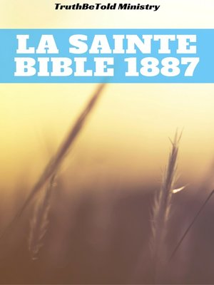 cover image of La Sainte Bible 1887