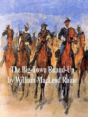 cover image of The Big-Town Round-Up