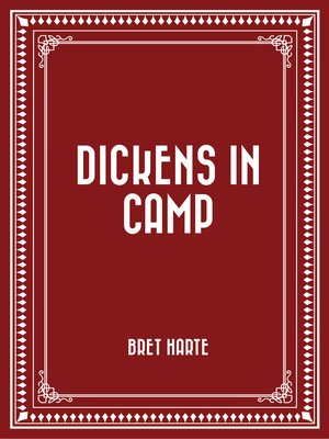 cover image of Dickens in Camp
