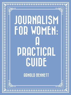 cover image of Journalism for Women: A Practical Guide