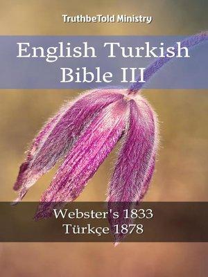 cover image of English Turkish Bible III