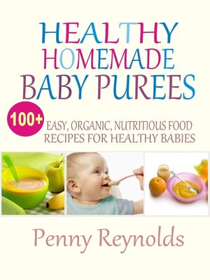 cover image of Healthy Homemade Baby Purees