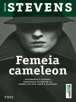 cover image of Femeia-cameleon