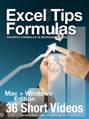 cover image of Excel 2016 Tips – Formulas