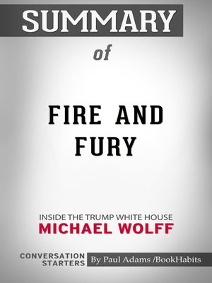 cover image of Summary of Fire and Fury