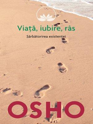 cover image of OSHO--Viata. Iubire. Ras
