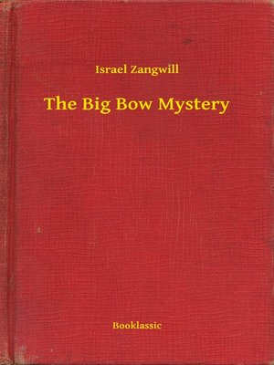 cover image of The Big Bow Mystery