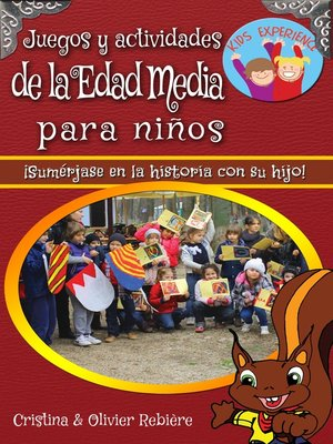 cover image of Juegos y actividades de la Edad Media para niños