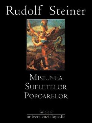 cover image of Misiunea sufletelor popoarelor