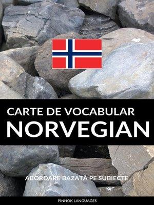 cover image of Carte de Vocabular Norvegian