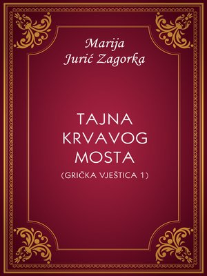 cover image of Tajna Krvavog mosta