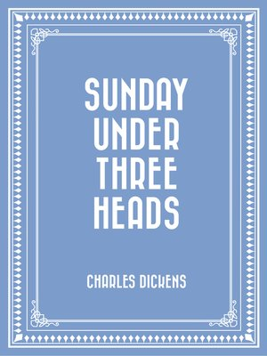 cover image of Sunday Under Three Heads