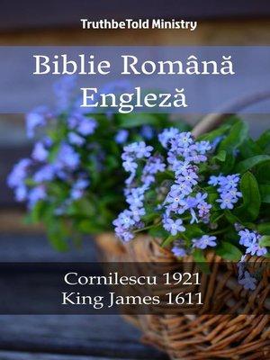 cover image of Biblie Română Engleză
