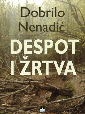 cover image of Despot i zrtva
