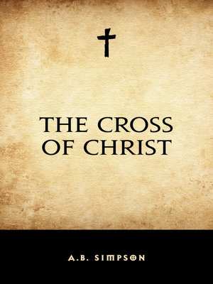 cover image of The Cross of Christ