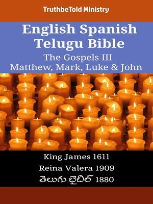 cover image of English Spanish Telugu Bible - The Gospels III - Matthew, Mark, Luke & John