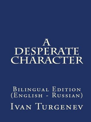 cover image of A Desperate Character